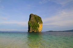 Poda ö - Krabi - Thailand Arkivfoton