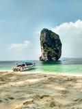 Poda öAndaman hav Thailand Asien Arkivfoto