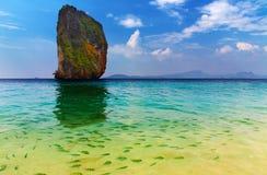 海岛天堂poda热带的泰国 库存图片