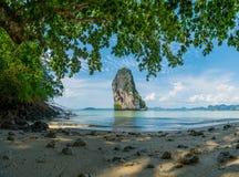Poda beach in Krabi Thailand Royalty Free Stock Image