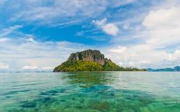 Poda Insel in Krabi Thailand lizenzfreie stockfotografie