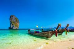 Poda Island, AO Nang, Krabi, Thailand. stock images