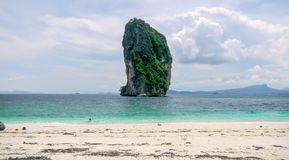 Poda island, Koh Poda, Krabi, Thailand. royalty free stock images