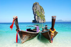 Poda island in Krabi Stock Images
