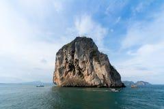 Poda island in Krabi Thailand, andaman sea Royalty Free Stock Photography