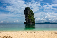Poda Island at Krabi in Thailand Royalty Free Stock Photography