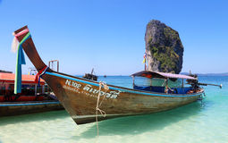 Poda Island, Krabi, Thailand Royalty Free Stock Photography