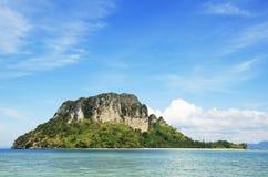 Poda island at Krabi,Thailand. And nice sky Stock Photos