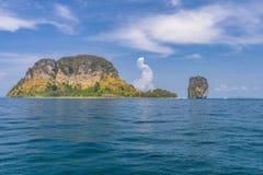 Poda island. Near Railay Bay in Krabi province, Thailand Royalty Free Stock Photography