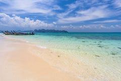 Poda island. Shore near Railay Bay in Krabi province, Thailand Royalty Free Stock Photography