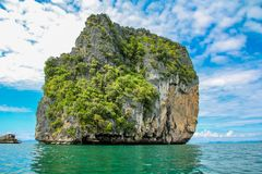 Poda island in Thailand. View at Poda island in Thailand Stock Images