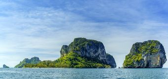 Poda Islands in the Andaman sea  Krabi Royalty Free Stock Image