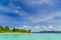 Poda Islands in the Andaman sea  Krabi Stock Images