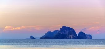 Poda Islands in the Andaman sea  Krabi Royalty Free Stock Photography