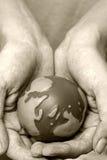 podaj świat zdjęcie royalty free