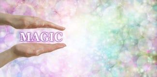 podaj magii Zdjęcia Royalty Free