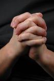 podaj modlitwę Obraz Stock