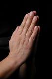 podaj modlitwę Fotografia Stock