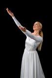 podaj podnoszące balerina Zdjęcie Royalty Free