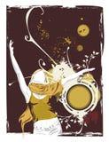 podaj tańczyć i kobiety ilustracja wektor