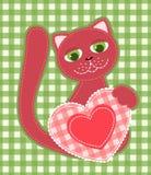 podaniowy kot ilustracji