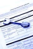 podaniowy kredyt mieszkaniowy Zdjęcie Stock