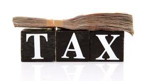 Podatków oszczędzania fotografia royalty free