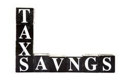 Podatków oszczędzania obraz royalty free