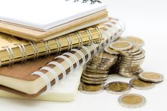Podatku kalkulacyjny każdy rok everyone Wizerunku use dla wynagrodzenie podatków, rozwój gospodarczy, biznesowy pojęcie zdjęcia stock