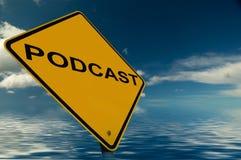 podcast符号 皇族释放例证