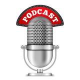 Podcast Immagini Stock