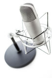 Podcasting Στοκ εικόνες με δικαίωμα ελεύθερης χρήσης