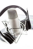 Podcasting Στοκ Φωτογραφίες