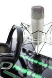 Podcasting Στοκ Εικόνα