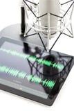 Podcasting Στοκ Εικόνες