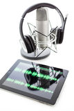 Podcasting Stock Photography