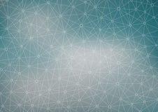 Podłączeniowa struktura geometryczny abstrakcjonistyczny tło Medycyna, nauka i technika Wektorowa ilustracja dla twój Obraz Royalty Free