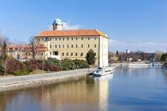 Podebrady Castle Στοκ εικόνα με δικαίωμα ελεύθερης χρήσης