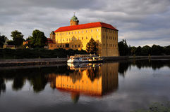 Podebrady chateau Royaltyfri Bild