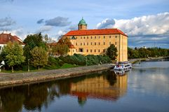 Podebrady chateau Royalty Free Stock Images