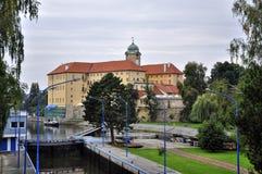 Podebrady chateau Royalty Free Stock Image