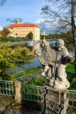 Podebrady chateau. Situated at the river Elbe - Czech Republic royalty free stock images