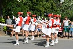 Podebrady, Czech Republic: 18. 6. 2016: Team of majorettes, National championship of the Czech Republic Royalty Free Stock Photos