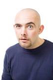 podejrzany śmiały mężczyzna Zdjęcia Stock