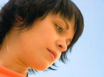 podekscytowana kobieta Zdjęcia Stock