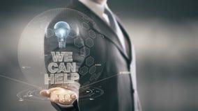 Podemos ayudar tecnologías disponibles de Holding del hombre de negocios a las nuevas almacen de metraje de vídeo