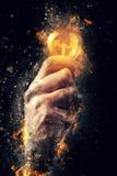 Poder da energia criativa Imagens de Stock Royalty Free