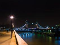 Poder da ponte da torre Fotos de Stock Royalty Free