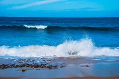 Poder das ondas 3 Fotografia de Stock