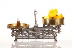 Poder de óleos essenciais Fotografia de Stock